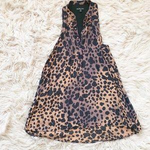 Vans Tunic/Dress Animal Print Sz Small